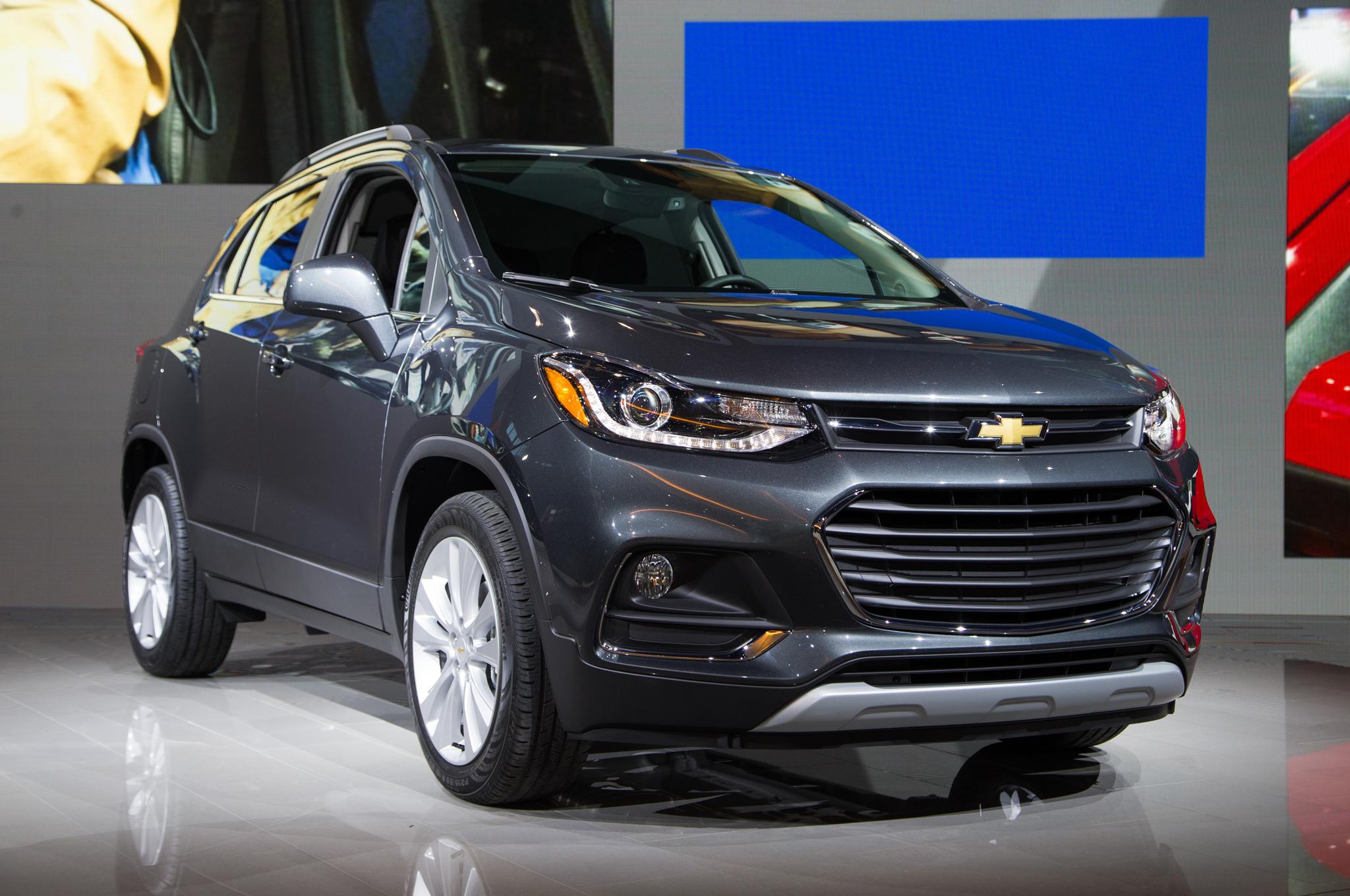 2017 Chevrolet Trax Front Three Quarter
