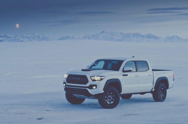2017 Toyota Tacoma Trd Pro Front Quarter In Mooonlight