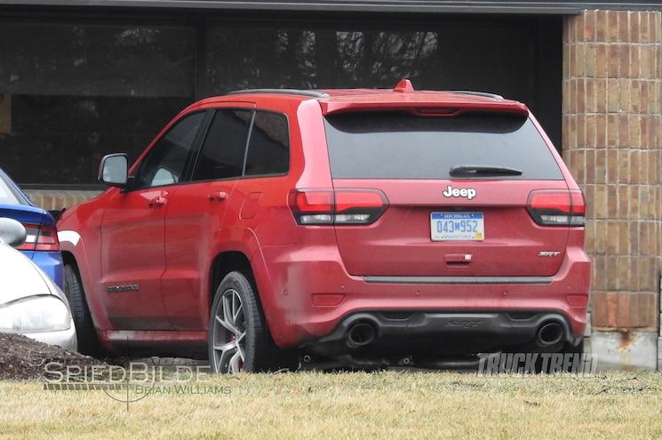 2018 Jeep Grand Cherokee Hellcat Trackhawk Rear Three Quarter