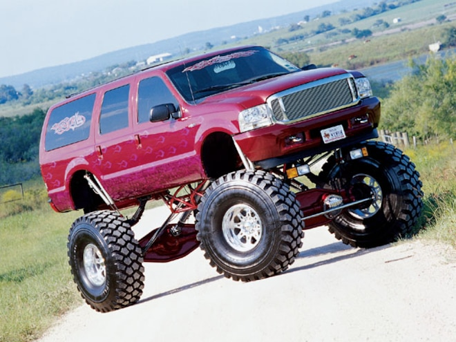 2000 Ford Excursion 53 Inch Tires