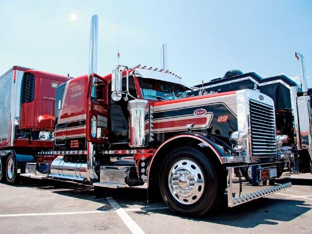 Custom Rig Truck Show 1990 Peterbilt