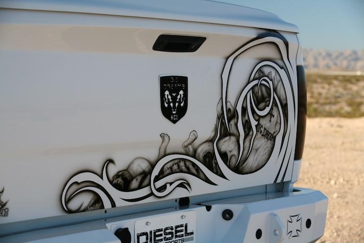 36 2011 Dodge Ram 2500 Black And White