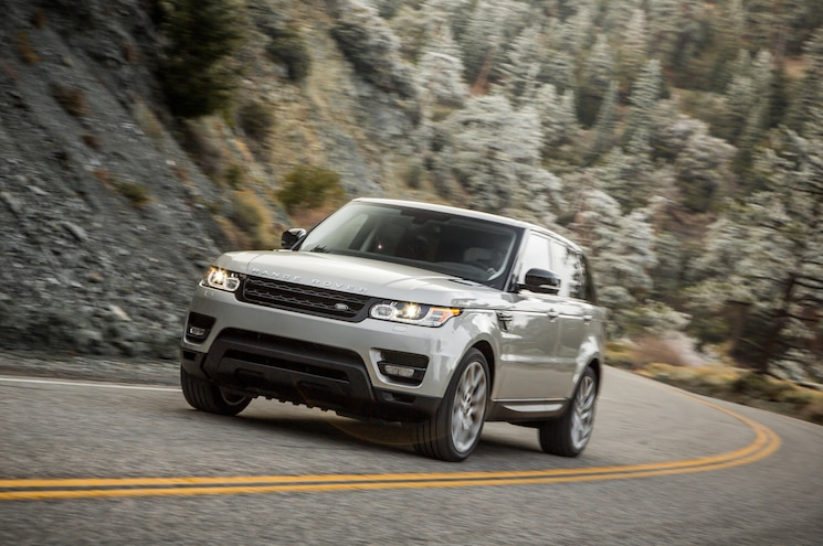 2015 Land Rover Range Rover Sport Front End In Motion
