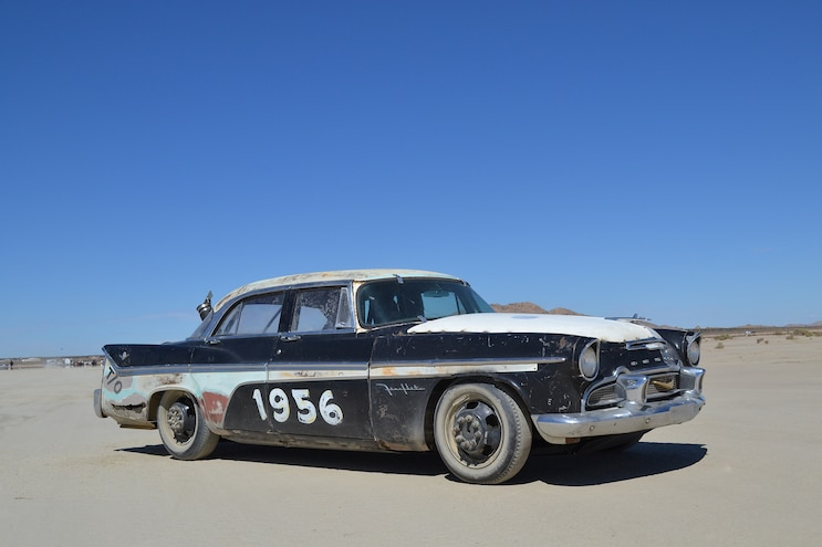 This 1956 Duramax DeSoto is built for speed