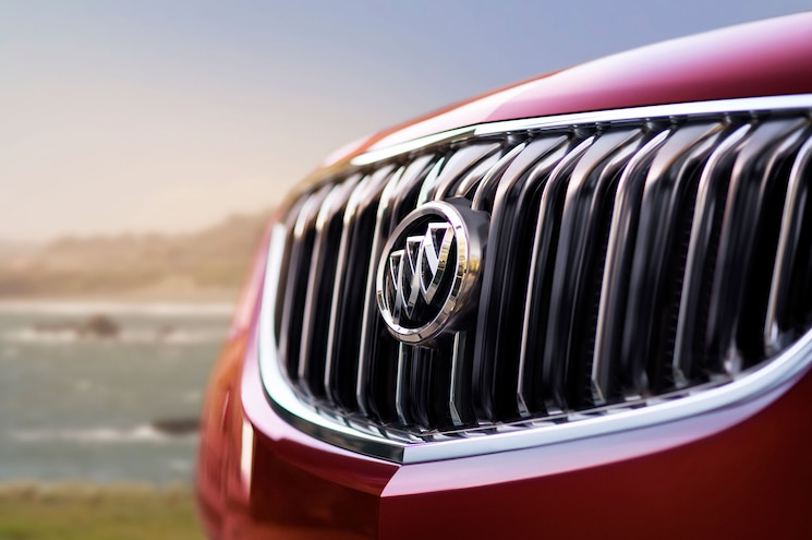 2017 Buick Enclave Sport Touring Grille