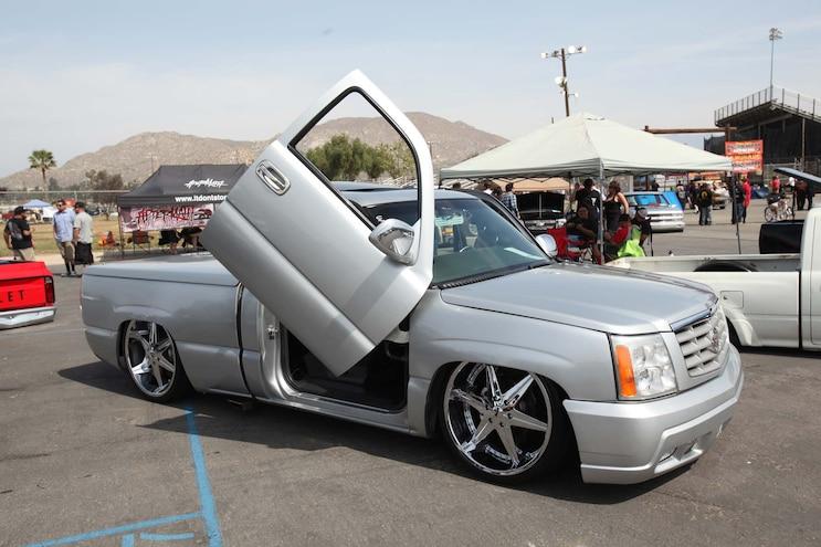 2015 Forbidden Fantasy 064 Chevy Silverado Escalade Clip Lambo Doors