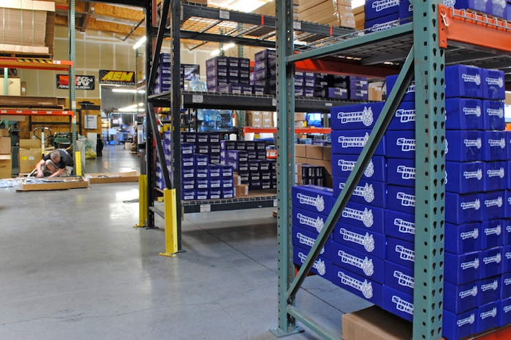002 Sinister Diesel Warehouse Full Of Diesel Products