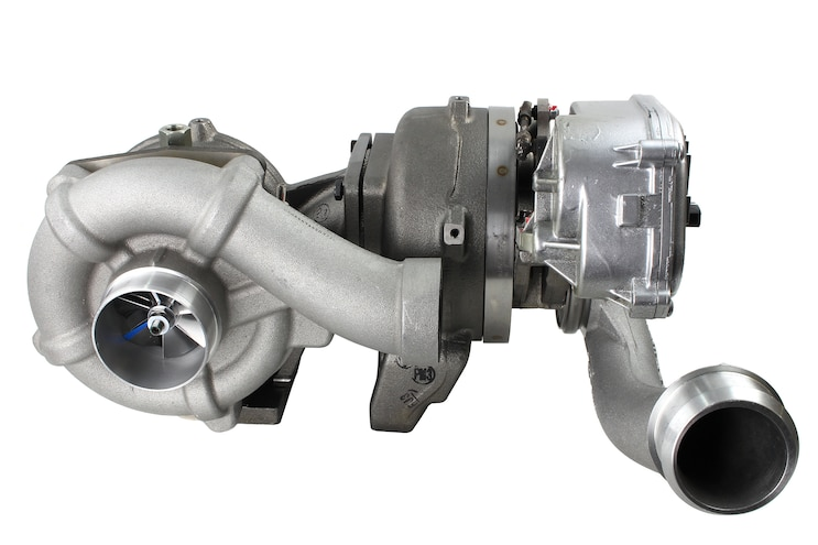 012 Industrial Injection Phat Shaft Ford Power Stroke 6 4L Diesel Compound Turbo Kit