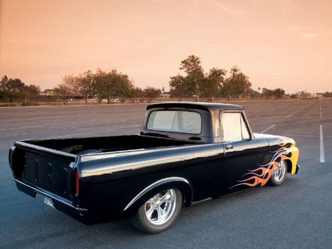 1961 Ford F100 Unibody Short Bed Custom Trucks Sport Truck