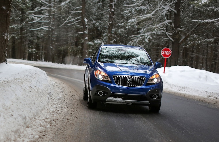 2015 Buick Encore Awd Snow Driving 016