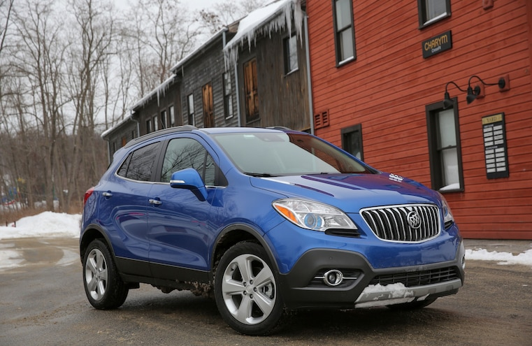 2015 Buick Encore Awd Snow Driving 019