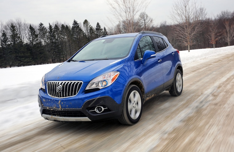 2015 Buick Encore Awd Snow Driving 032
