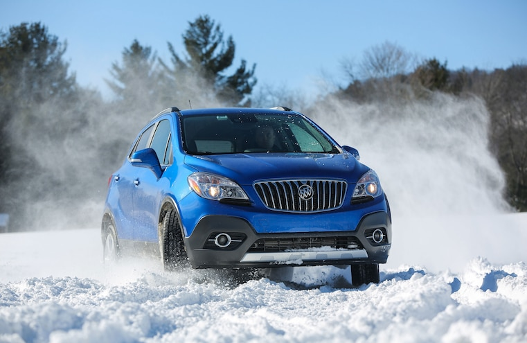 2015 Buick Encore Awd Snow Driving 055
