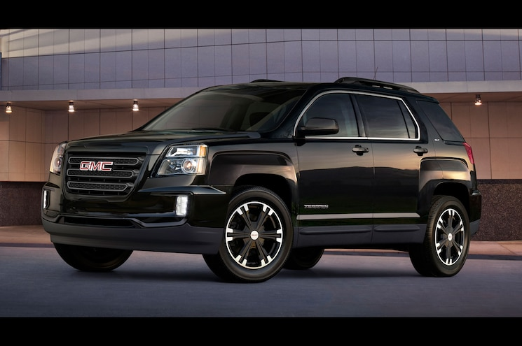 2017 GMC Terrain Nightfall Edition Gets Midnight Style in Four Colors