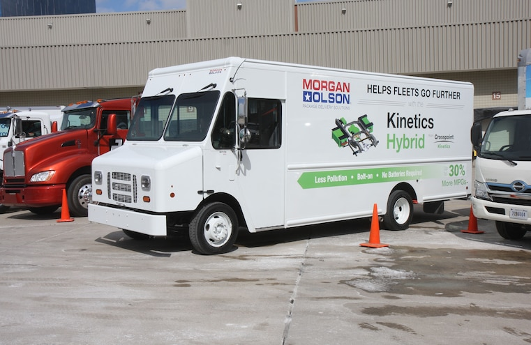 Crosspoint Kinetics Hybrid Electric Ford F59 001