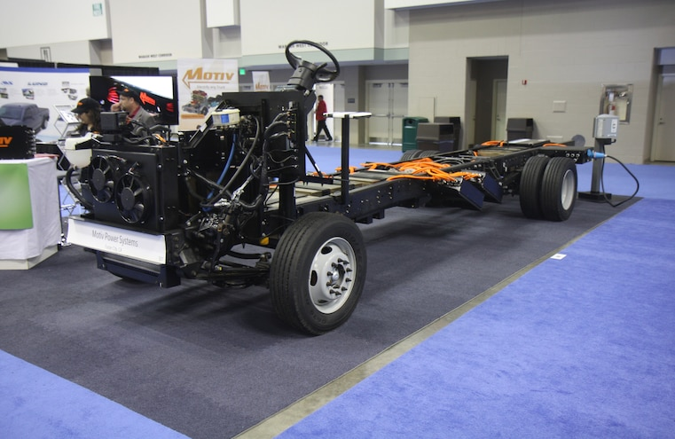 Motiv Power Systems Electric Ford F59 Chassis 005