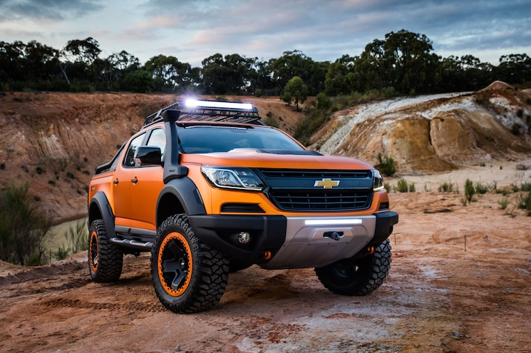 Chevrolet Colorado Xtreme, Trailblazer Premiere Debut in Thailand