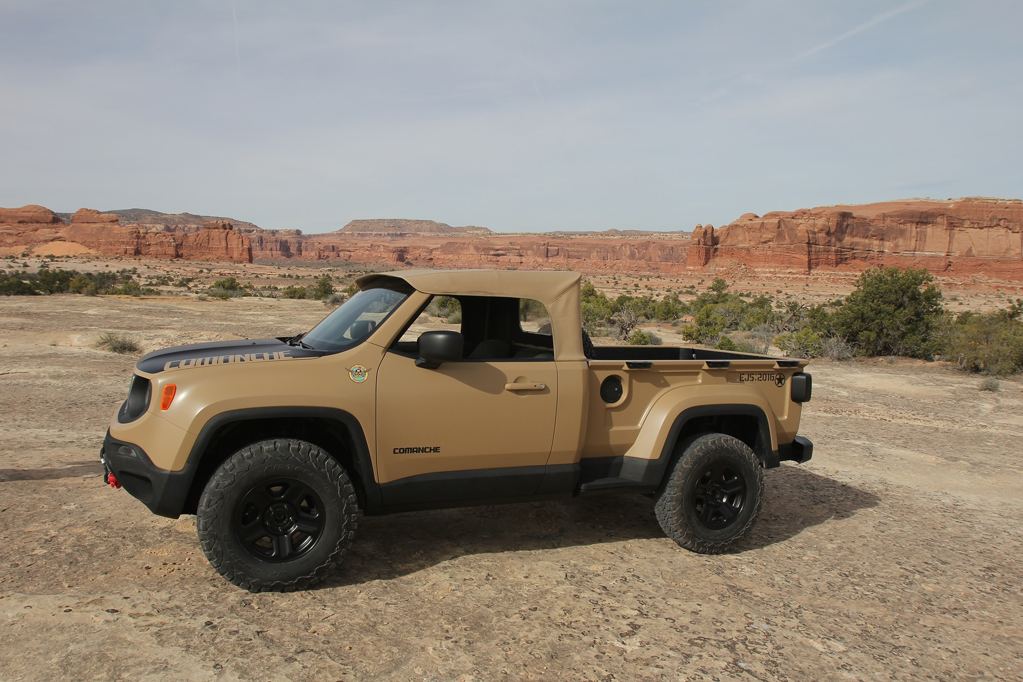 2016 Jeep Comanche >> Hidden Nods To Jeep Heritage And History In Jeep Underground Jeep