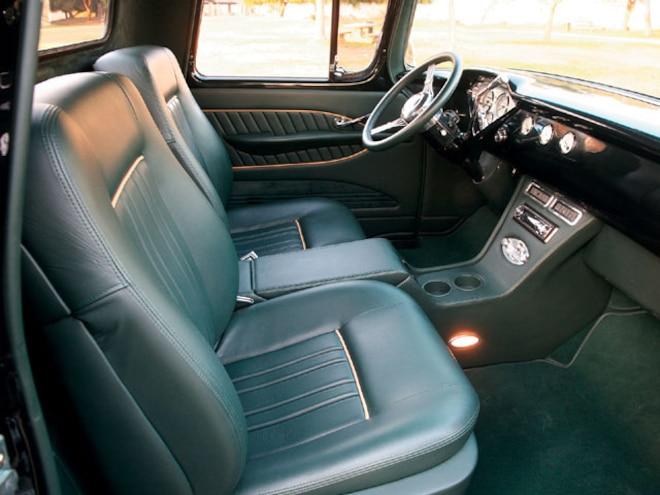 1958 Chevy Apache Half Ton Truck interior