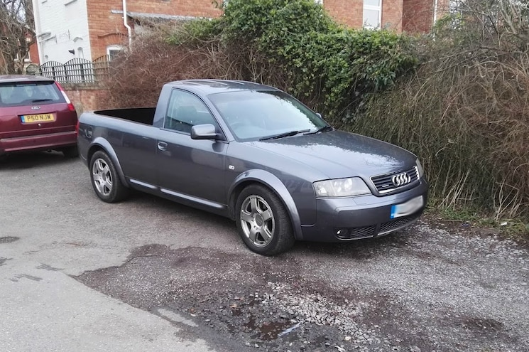 Die Straße: Enterprising Owner Turns C5 Audi Allroad into Pickup