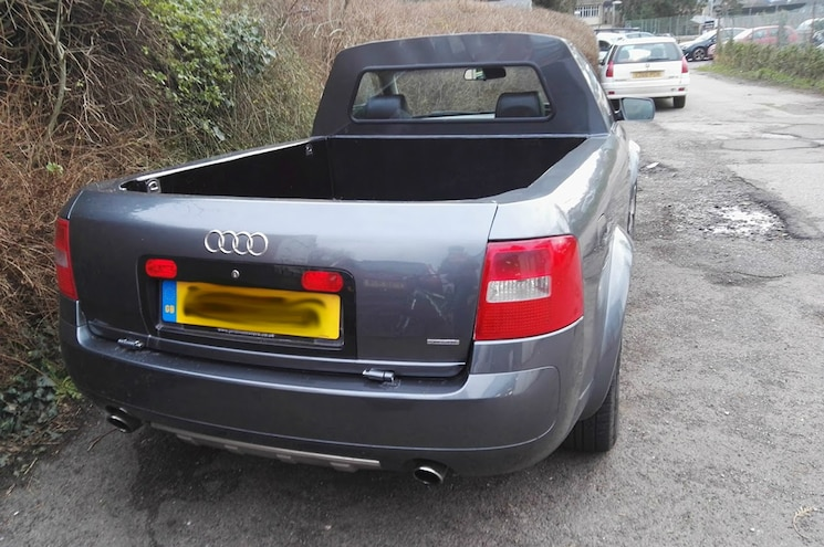 Audi Allroad Pickup Conversion Rear