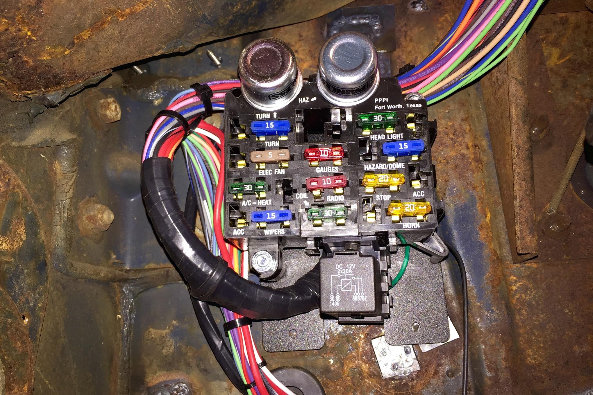 Awe Inspiring Ford 3 8 Engine Swap Wiring Harness Wiring Diagram Wiring 101 Akebretraxxcnl