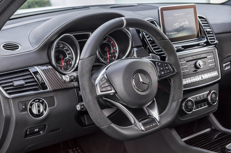 2016 Mercedes Benz GLE63 AMG S Steering Wheel