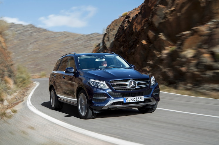 2016 Mercedes Benz GLE300d 4Matic Front End