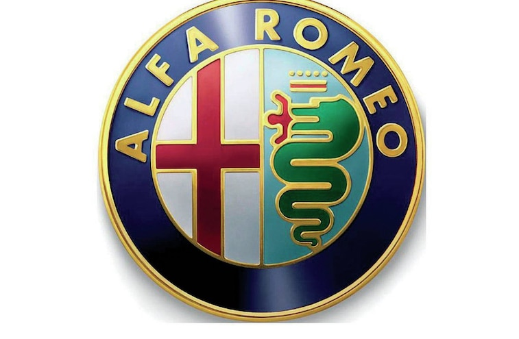 2014 Alfa Romeo Logo Outlined