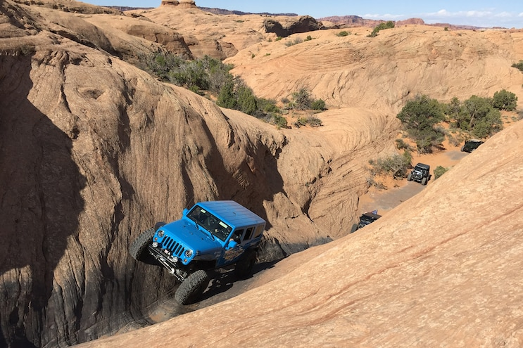 Moab EJS 2016 Tuesday: Dominating Hells Revenge with Team Dana Spicer Axle