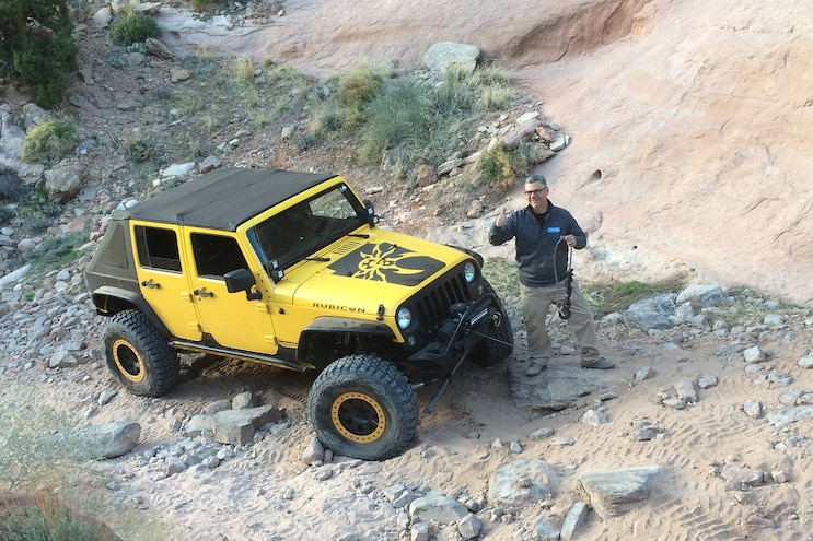 How many field fixes does it take to get a JK through Pritchett Canyon at EJS 2016 Day 5