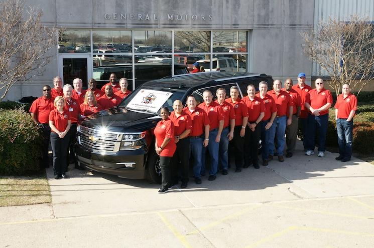 2015 Chevrolet Suburban is GM Arlington's 10-Millionth Vehicle