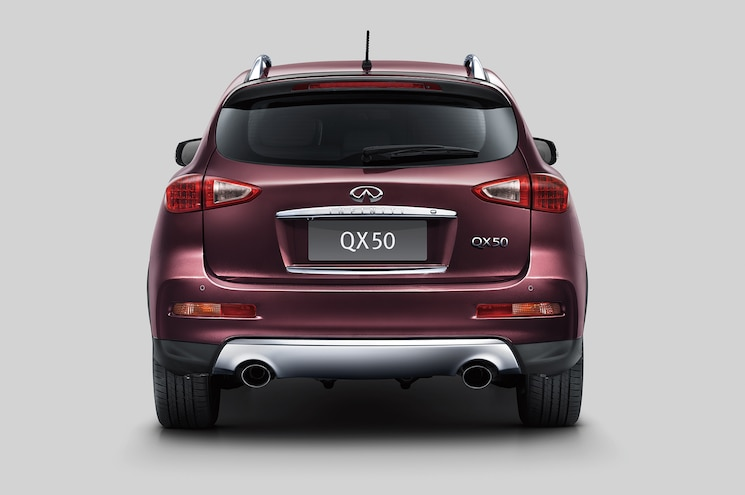 2016 Infiniti QX50 Rear End