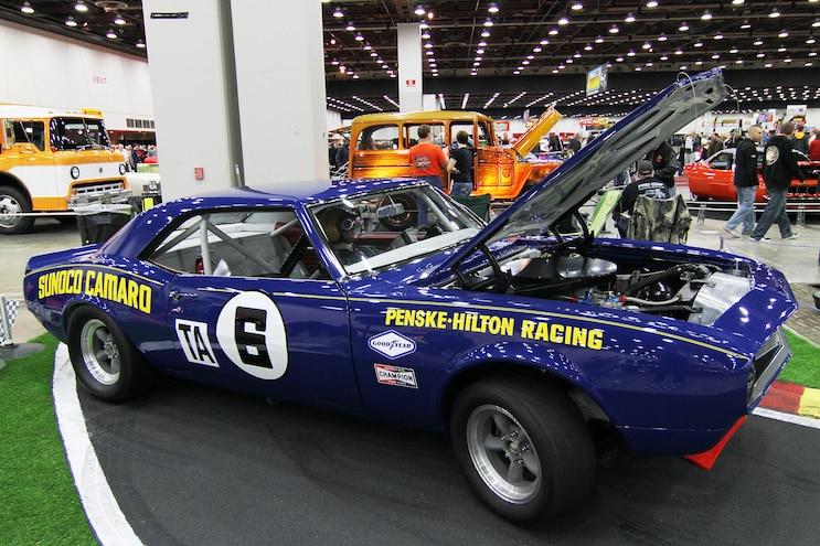 026 Detroit Autorama 1968 Chevrolet Camaro Penske Donohue Tribute Adam Moore