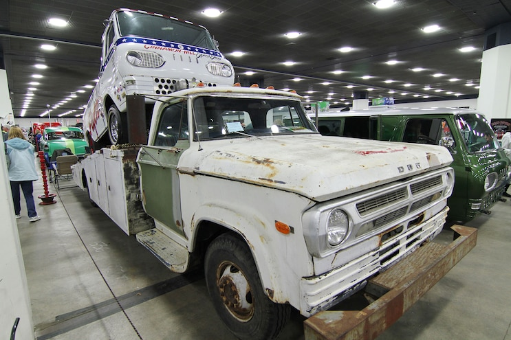 016 Detroit Autorama 1970 Dodge Ramp Truck
