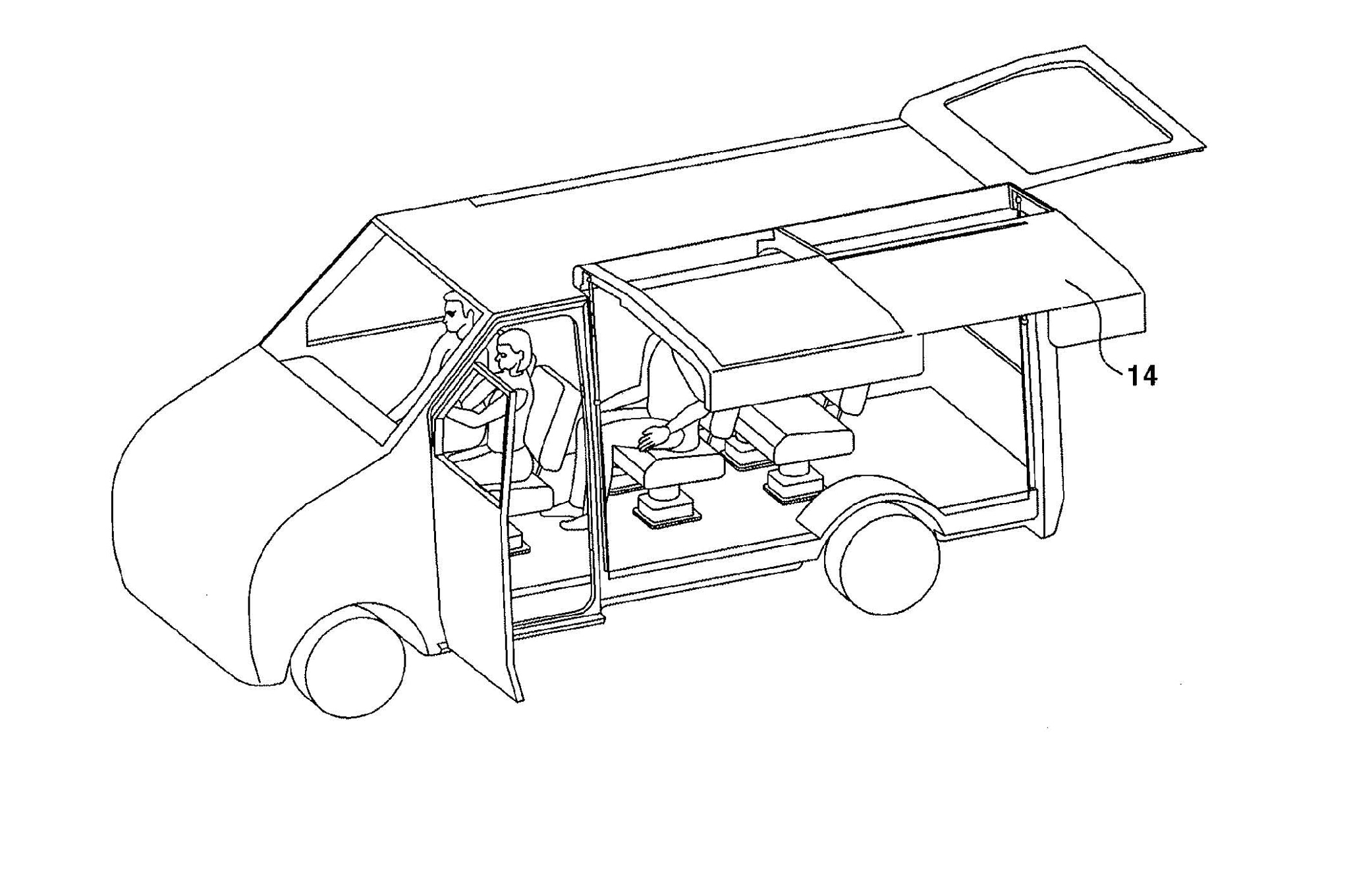 Hyundai Patent Images Show Sliding Gullwing Door For Camping