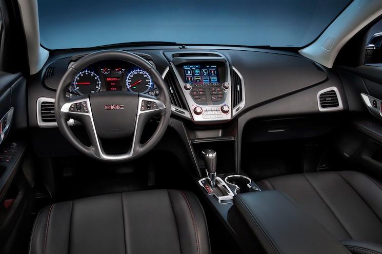 2016 GMC Terrain SLT Interior