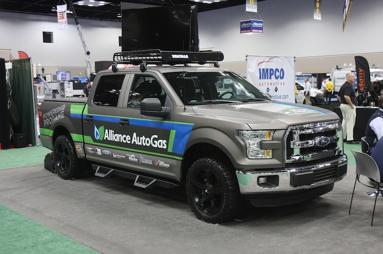2016 Ford F 150 Alliance Autogas Conversion
