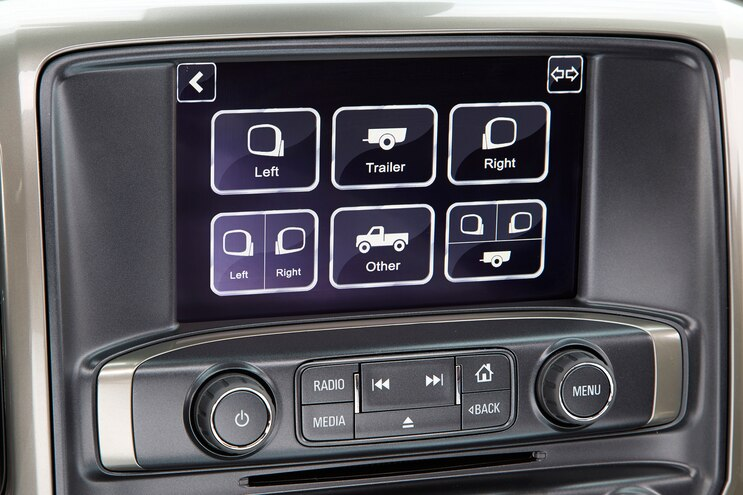 002 Auto News 8 Lug Work Truck Chevy Gm Silverado Hd Echomaster Trailer Camera Blindspot Assist Safety Technology Fifth Wheel Gooseneck