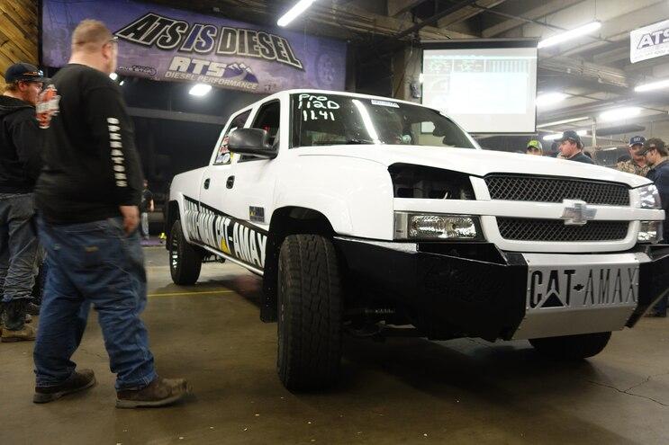 007 ATS Gauntlet Mykle Baugh 2003 Chevrolet Silverado 2500hd