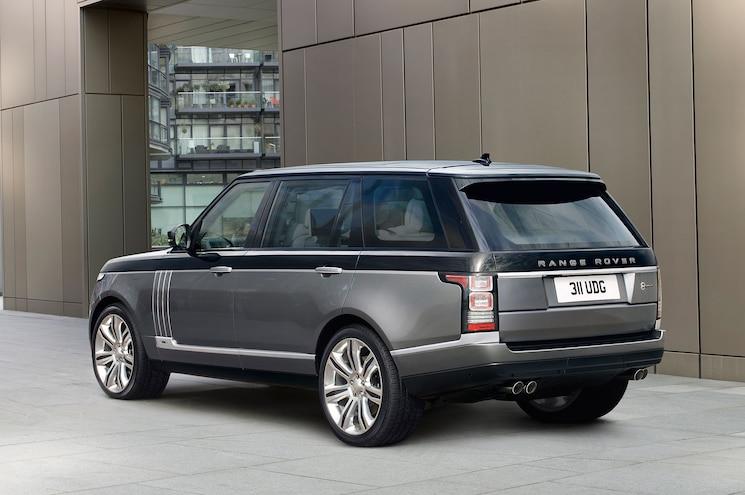 2016 Land Rover Range Rover SVAutobiography Rear Three Quarter