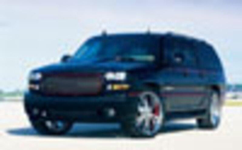 2003 gmc yukon denali xl custom suv truckin magazine truck trend