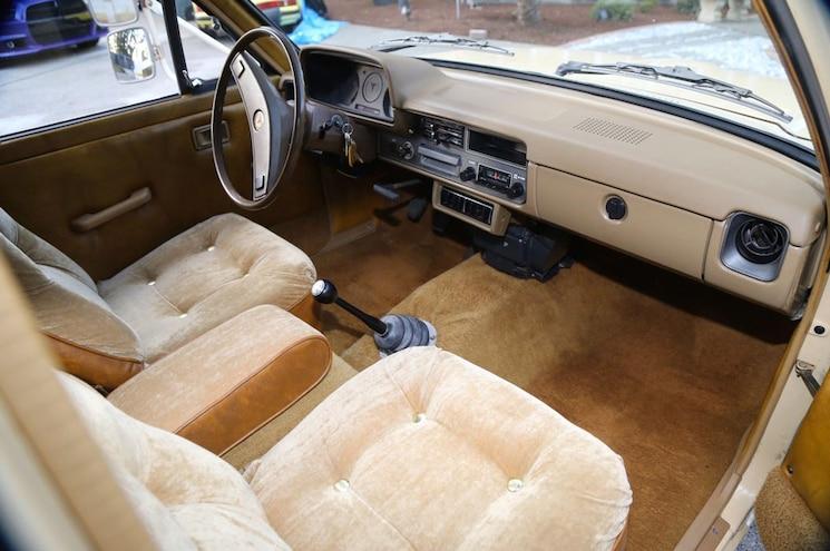 1981 Toyota Pickup Dualie Interior