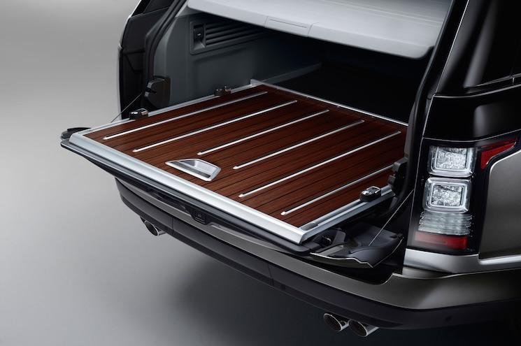 2016 Land Rover Range Rover SVAutobiography Cargo Floor