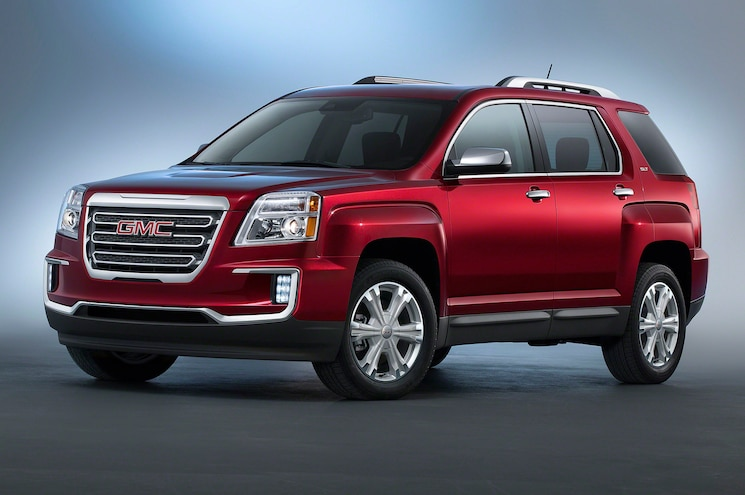2016 GMC Terrain First Look