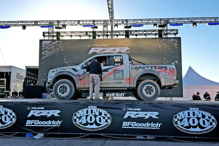 We Race The 2017 Ford F-150 Raptor And Win The Mint 400