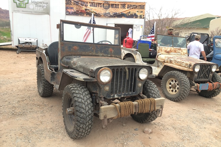 Cool vehicles from the Epic Willys Adventure in Moab Easter Jeep Safari 2016 - Day 3