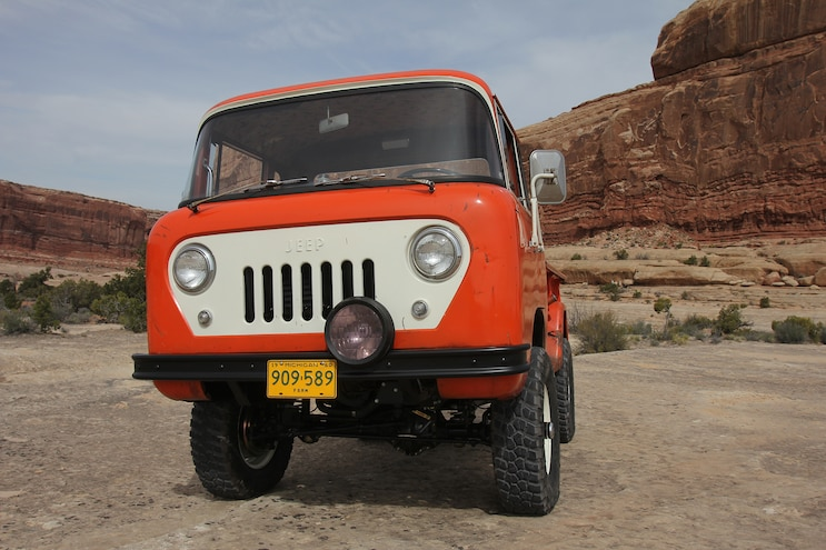 Hidden nods to Jeep heritage and history in Jeep Underground FC-150 - EJS 2016 in Moab Day 2