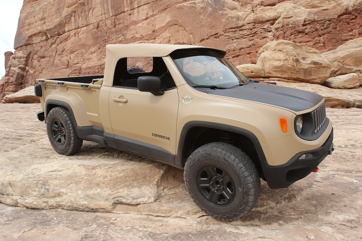 Crazy Jeep Comanche Unveiled At Moab EJS 2016 Day 3: Exclusive photos, video, opinions