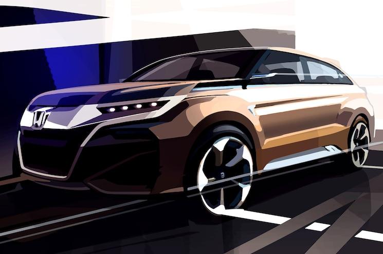 Honda Sketch Previews SUV Concept That's Headed for Shanghai